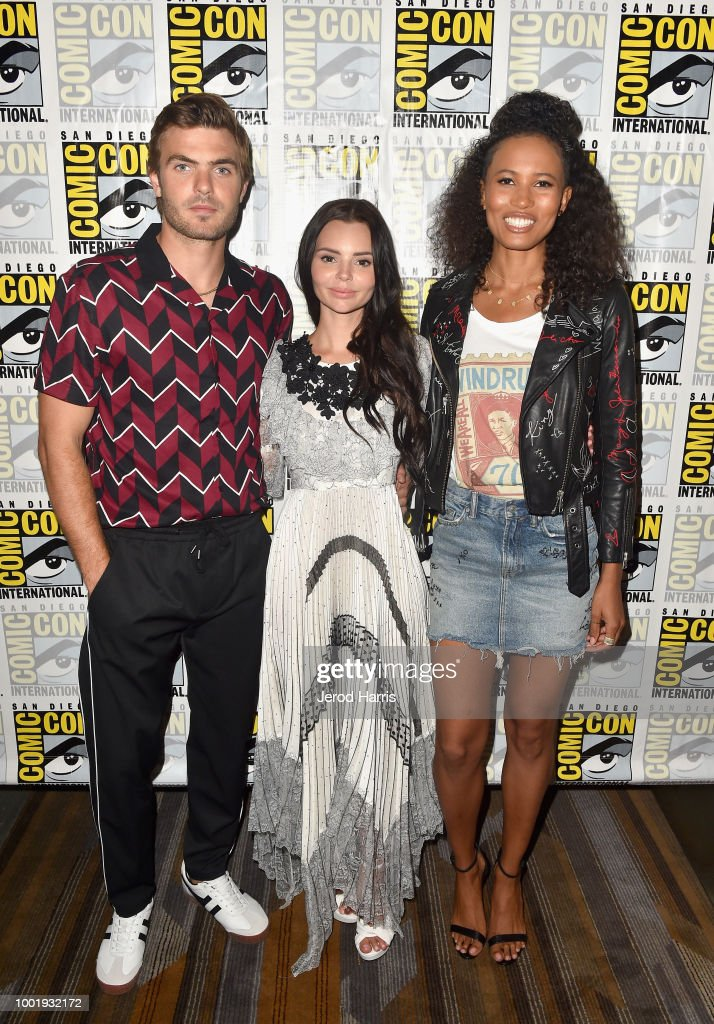 "Comic-Con International 2018 -  Freeform's ""Siren"" Press Line"