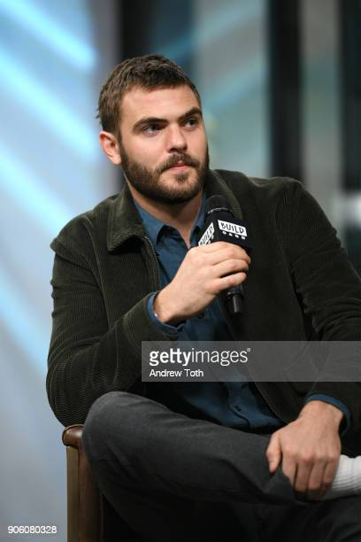 Alex Roe visits Build at Build Studio on January 17 2018 in New York City