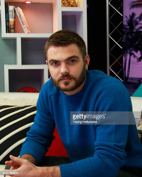 Alex Roe visits the Young Hollywood Studio on January 16 2017 in Los Angeles California