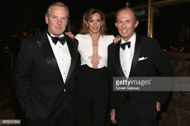 Alex Roepers Ulla Parker and Mark Gilbertson attend Museum of the City of New York Winter Ball on February 22 2018 in New York City