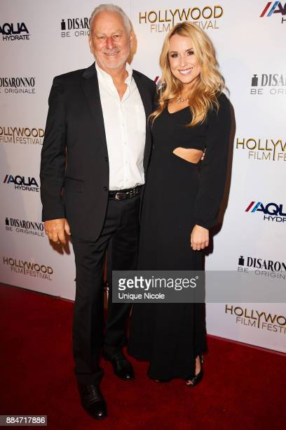 Alex Rose attends Hollywood Film Festival Honors Film And TV Icon Ed Asner at Paramount Theatre on December 2 2017 in Hollywood California