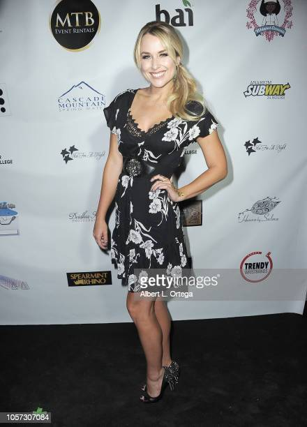 Alex Rose Wiesel Attends Star For A Night To Benefit Cancer For College held at The Vortex on November 3 2018 in Los Angeles California