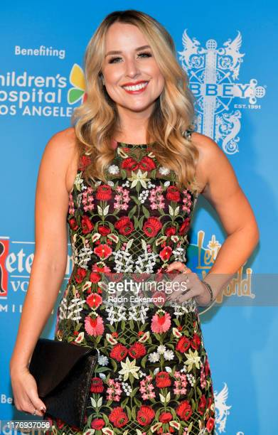 Alex Rose Wiesel attends the Children's Hospital of Los Angeles Christmas In September Toy Drive at The Abbey on September 24 2019 in West Hollywood...