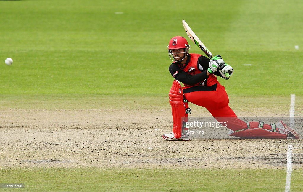 Alex Ross of the Redbacks plays on the on side during the Matador BBQs One Day Cup match between Tasmania and South Australia at North Sydney Oval on October 22, 2014 in Sydney, Australia.