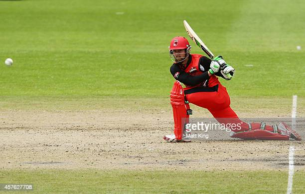 Alex Ross of the Redbacks plays on the on side during the Matador BBQs One Day Cup match between Tasmania and South Australia at North Sydney Oval on...