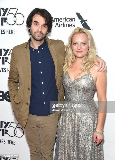 Alex Ross Perry and Elisabeth Moss attends the 56th New York Film Festival Her Smell premiere at Alice Tully Hall Lincoln Center on September 29 2018...