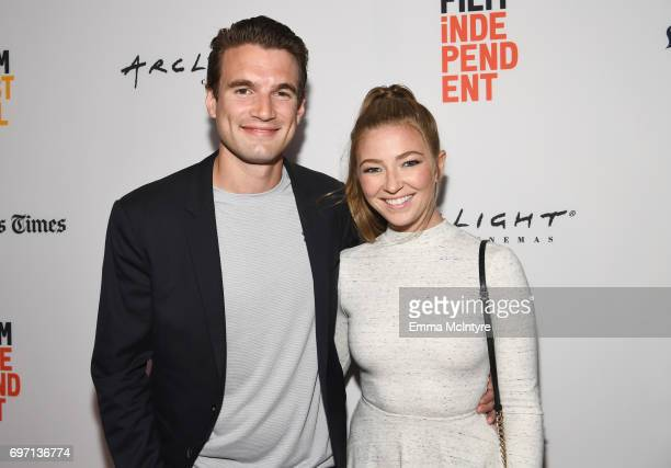 Alex Russell and Diana Hopper attend the 'Izzy Gets The Fuck Across Town' and 'Ok Call Me Back' Premieres during the 2017 Los Angeles Film Festival...