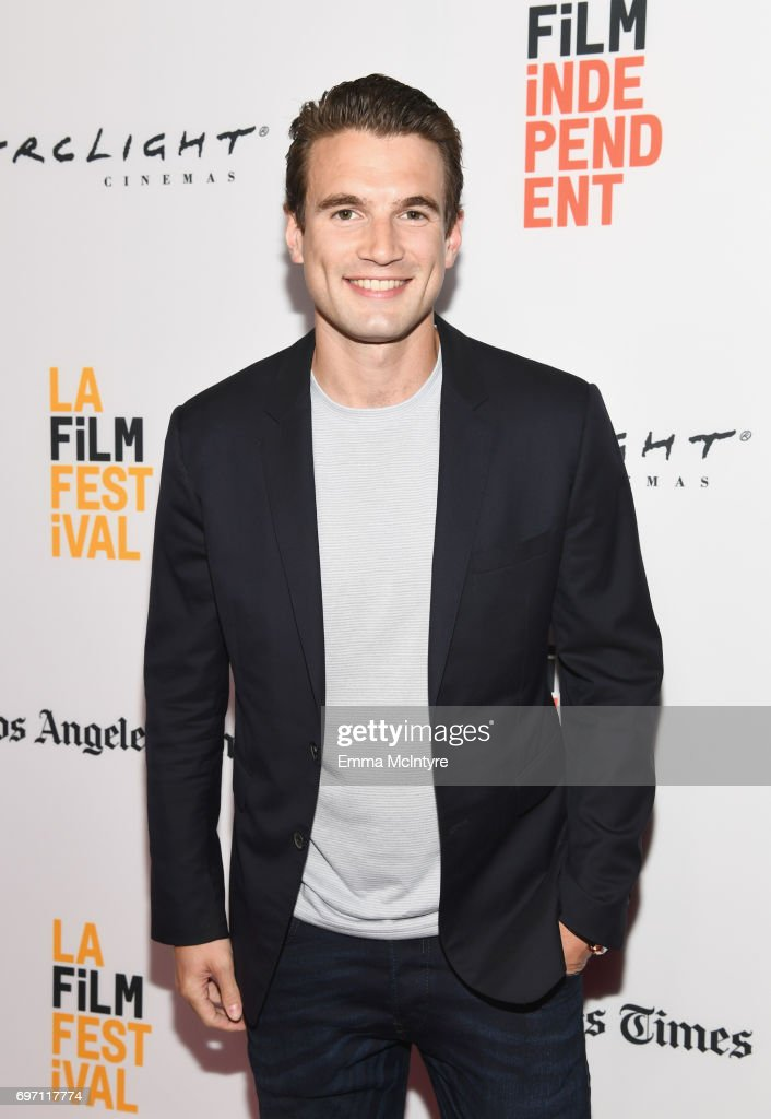 Alex Russell attends the 'Izzy Gets The Fuck Across Town' and 'Ok, Call Me Back' Premieres during the 2017 Los Angeles Film Festival at Arclight Cinemas Culver City on June 17, 2017 in Culver City, California.