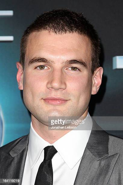 Alex Russell attends the The Host Los Angeles Premiere at ArcLight Cinemas Cinerama Dome on March 19 2013 in Hollywood California