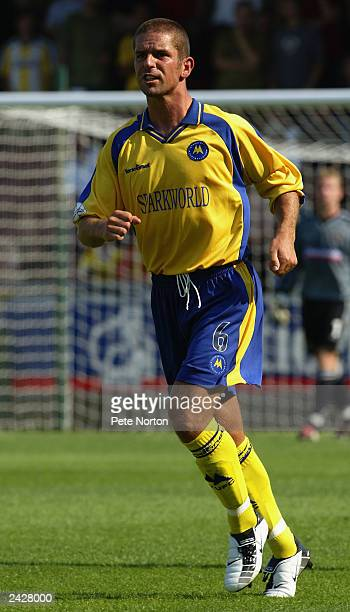 Alex Russell of Torquay United in action during the Nationwide League Division Three match between Northampton Town and Torquay United held on August...