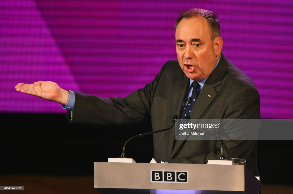 Second Television Debate Between Alex Salmond And Alistair Darling