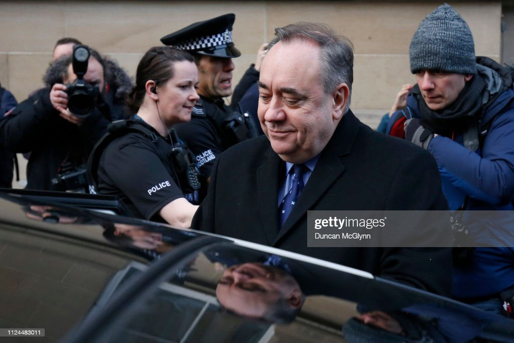 Alex Salmond, Scotland's Former First Minister, Appears In Court : News Photo