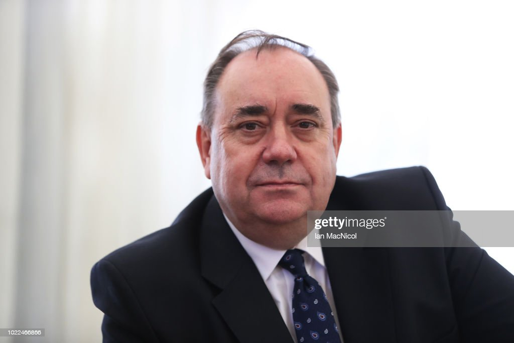 Alex Salmond Holds Press Conference Regarding Sexual Harassment Allegations