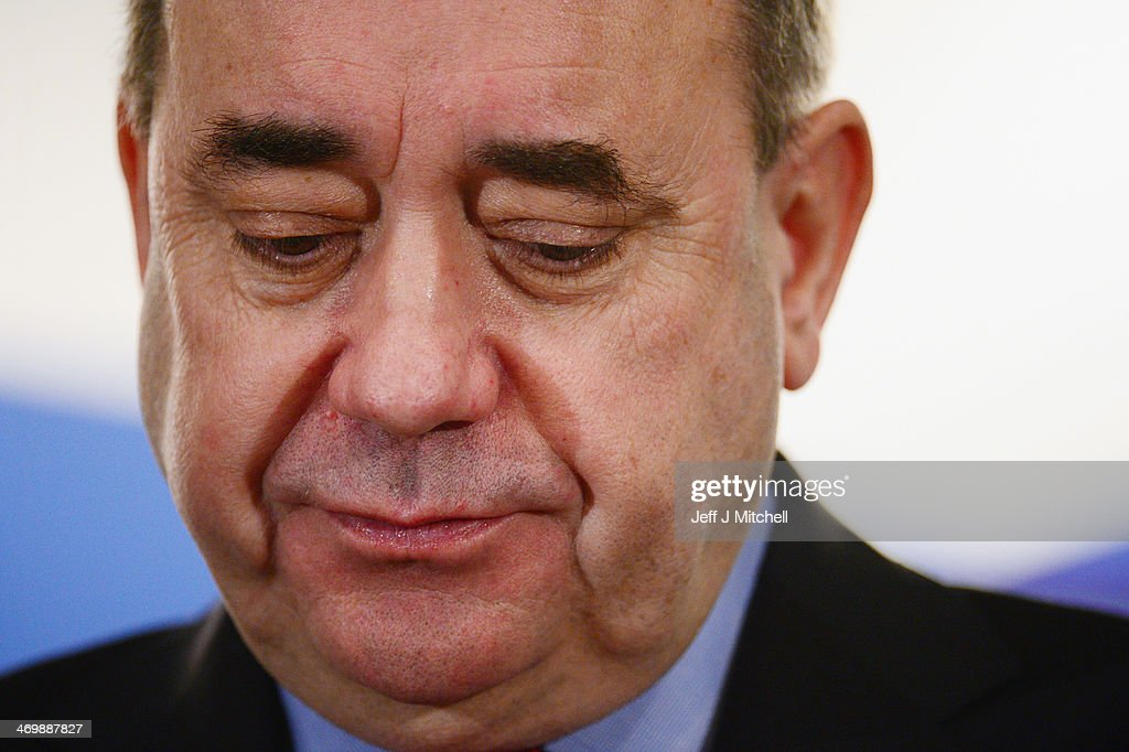 Alex Salmond Addresses Business Leaders On Referendum Plans : News Photo
