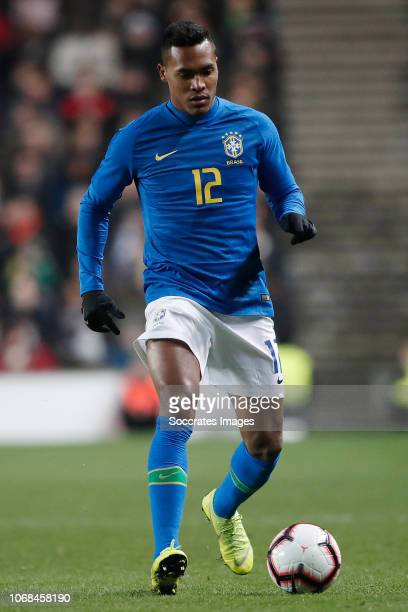 Alex Sandro of Brazil during the International Friendly match between Brazil v Cameroon at the Stadium MK on November 20 2018 in Milton Keynes United...