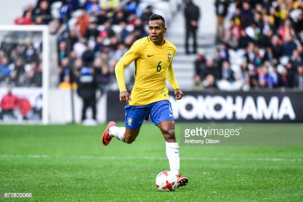 Alex Sandro of Brazil during the international friendly match between Japan and Brazil at Stade Pierre Mauroy on November 10 2017 in Lille France