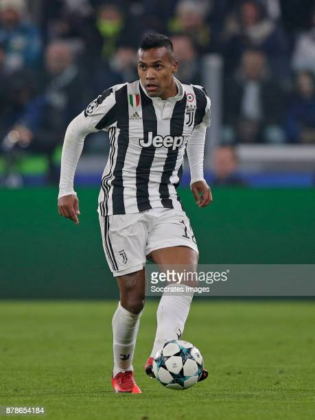 Alex Sandro of Juventus during the UEFA Champions League match between Juventus v FC Barcelona at the Allianz Stadium on November 22 2017 in Turin...