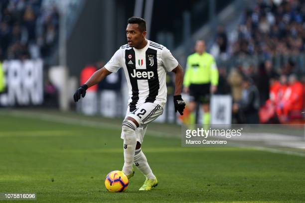 Alex Sandro of Juventus FC in action during the Serie A football match between Juventus Fc and Uc Sampdoria Juventus Fc wins 21 over Uc Sampdoria