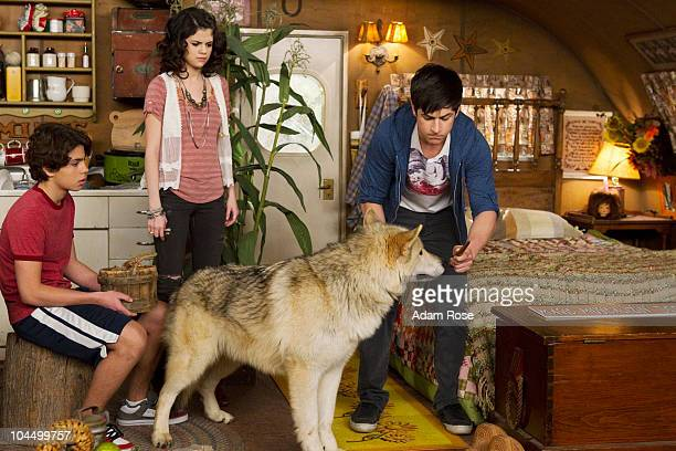 PLACE 'Alex Saves Mason' When Alex sees a news report about a dog that paints portraits that look remarkably like her she Justin and Max discover...