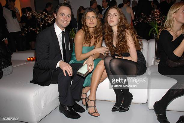 Alex Schaffel Lake Bell and Lynn Devon attend CALVIN KLEIN COLLECTION 'First Look' of THE NEW MUSEUM on The BOWERY at The New Museum on The Bowery on...