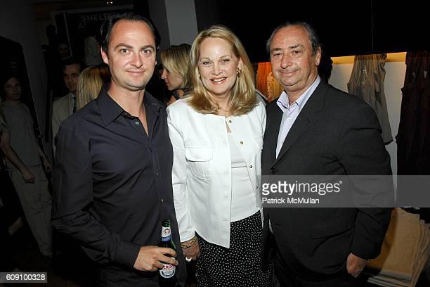 Alex Schaffel Nancy Schaffel and Bill Schaffel attend JAMES PERSE Men's Boutique Launch Party sponsored by Cabana Cachaa at James Perse Men's...