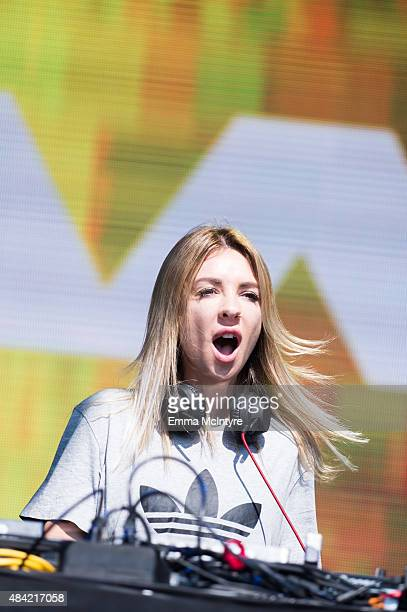 Alex Scholler aka Alison Wonderland performs live at the 2015 TIME Festival at Fort York on August 15 2015 in Toronto Canada