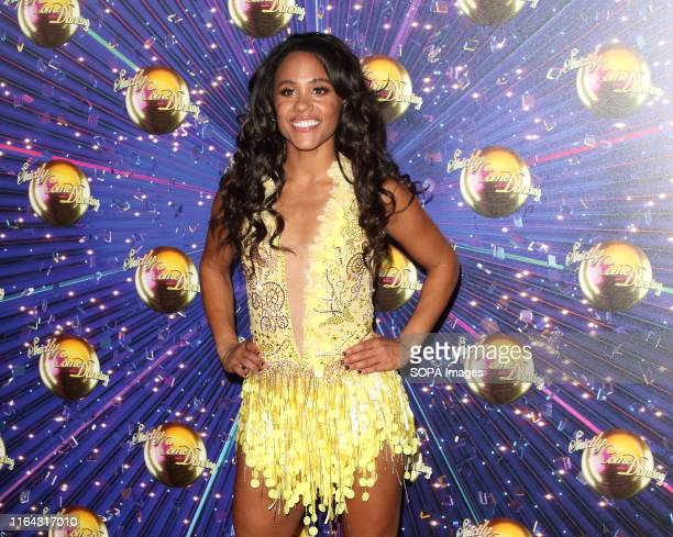 Alex Scott at the Strictly Come Dancing Launch at BBC Broadcasting House in London.