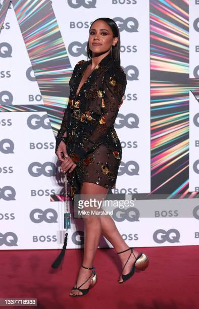 Alex Scott attends the GQ Men Of The Year Awards 2021 at Tate Modern on September 01, 2021 in London, England.
