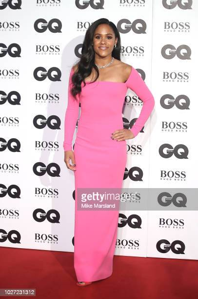 Alex Scott attends the GQ Men of the Year awards at Tate Modern on September 5 2018 in London England