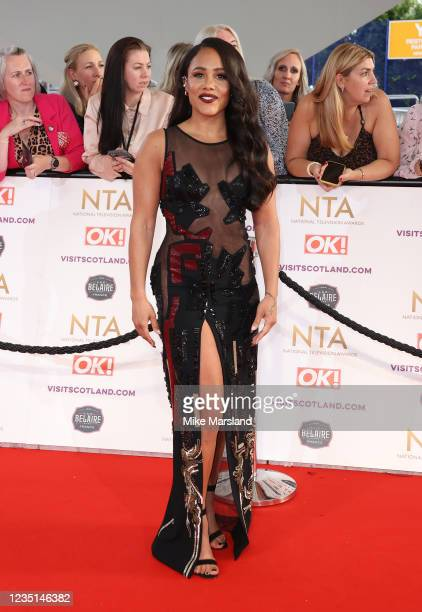 Alex Scott attends the National Television Awards 2021 at The O2 Arena on September 9, 2021 in London, England.