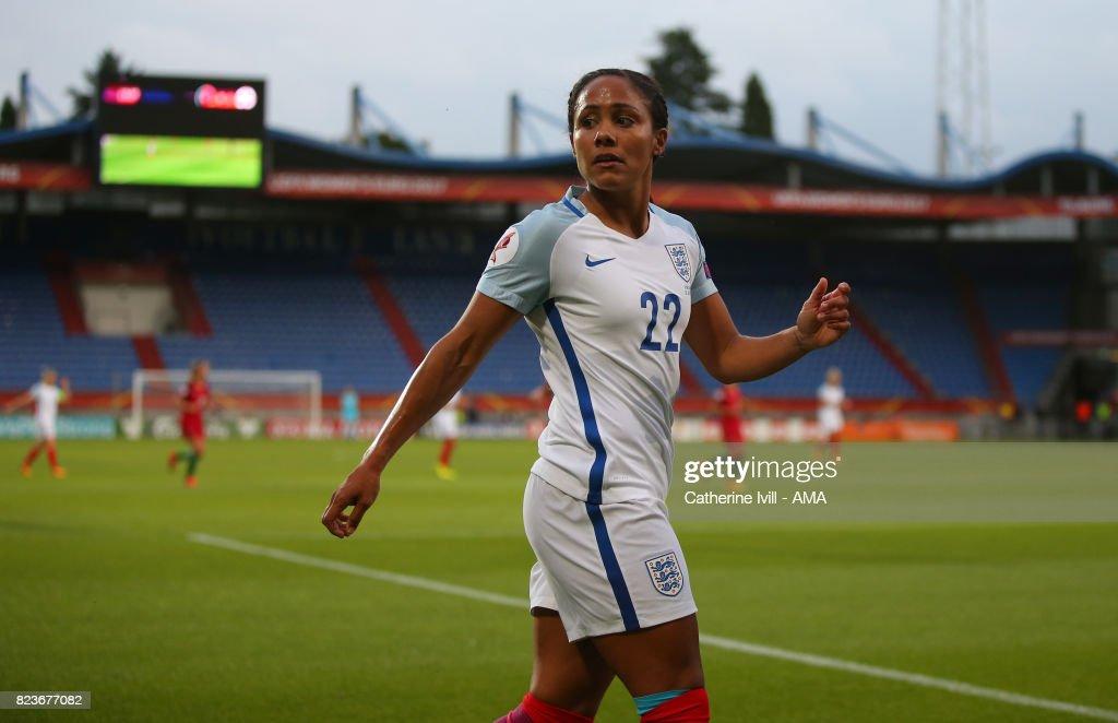 Portugal v England - UEFA Women's Euro 2017: Group D : News Photo