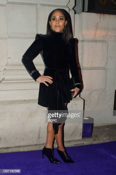 Alex Scott seen attending the BRIT Awards 2020 Universal afterparty at the Ned hotel on February 18 2020 in London England
