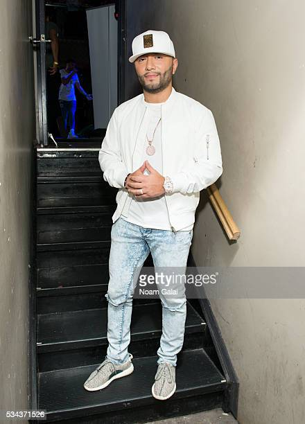 Alex Sensation attends Jencarlos Canela's concert at Stage 48 on May 25 2016 in New York City