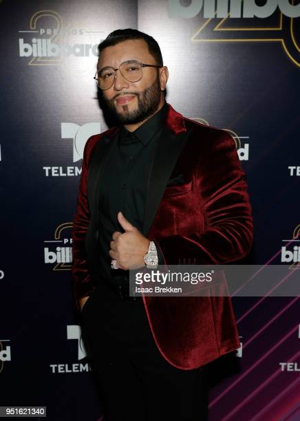 Alex Sensation attends the 2018 Billboard Latin Music Awards at the Mandalay Bay Events Center on April 26 2018 in Las Vegas Nevada