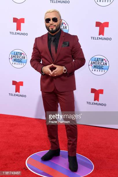 Alex Sensation attends the 2019 Latin American Music Awards at Dolby Theatre on October 17 2019 in Hollywood California