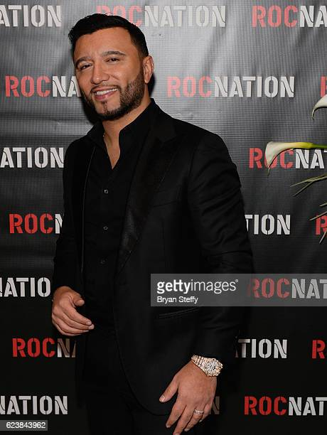Alex Sensation attends the Roc Nation Latin Grammy Midnight Brunch at the Nobu Hotel Caesars Palace on November 16 2016 in Las Vegas Nevada