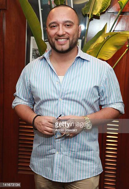 Alex Sensation visits SBS Radio New York on March 21 2012 in New York City