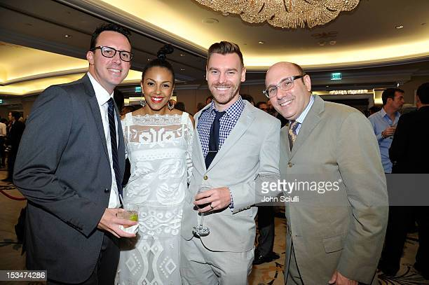 Alex Sepiol Marsha Thomason Craig Sykes and Willie Garson attend the 8th Annual GLSEN Respect Awards held at Beverly Hills Hotel on October 5 2012 in...