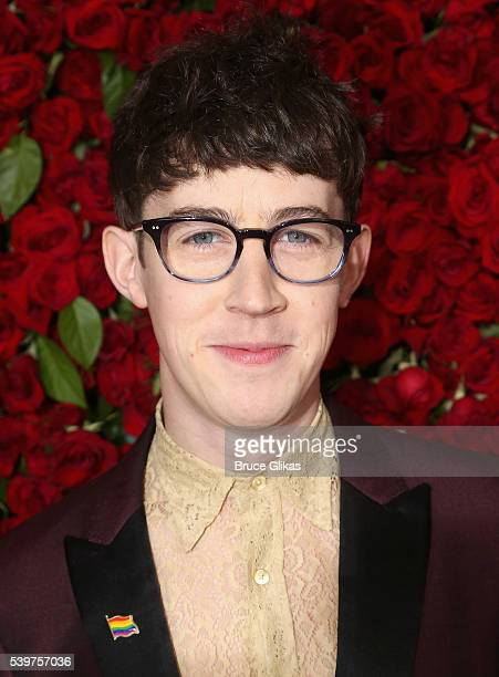 Alex Sharp attends 70th Annual Tony Awards Arrivals at Beacon Theatre on June 12 2016 in New York City