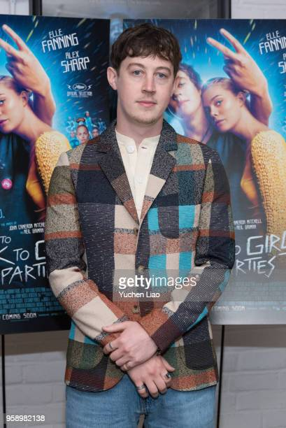 Alex Sharp attends 'How To Talk To Girls At Parties' New York Premiere at Metrograph on May 15 2018 in New York City