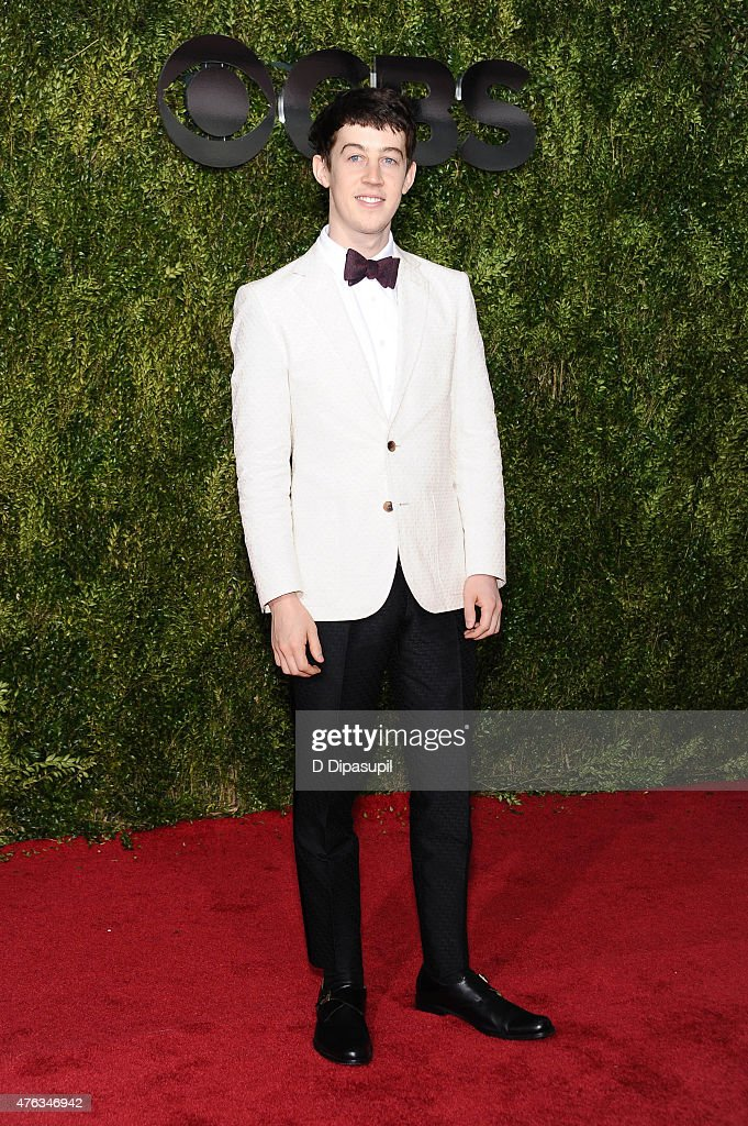 Alex Sharp attends the American Theatre Wing's 69th Annual Tony Awards at Radio City Music Hall on June 7, 2015 in New York City.