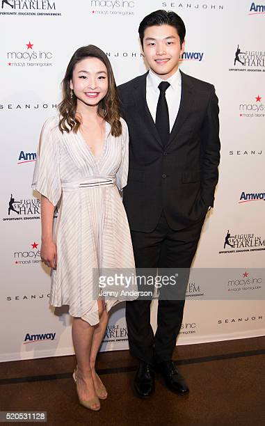 Alex Shibutani and Maia Shibutani attend 11th Annual Skating With The Stars Gala at 583 Park Avenue on April 11 2016 in New York City