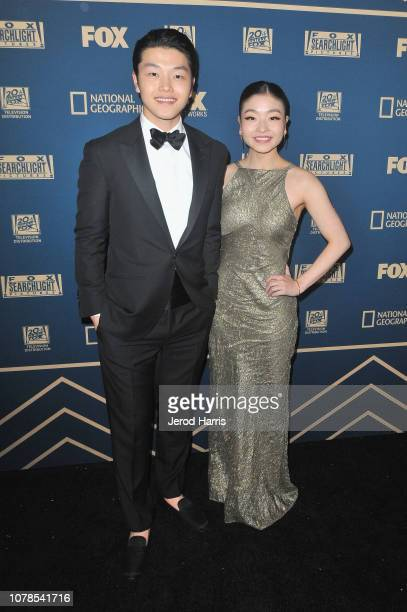 Alex Shibutani and Maia Shibutani attend the FOX FX and Hulu 2019 Golden Globe Awards After Party at The Beverly Hilton Hotel on January 6 2019 in...