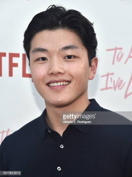 Alex Shibutani attends a screening of Netflix's 'To All The Boys I've Loved Before' at Arclight Cinemas Culver City on August 16 2018 in Culver City...