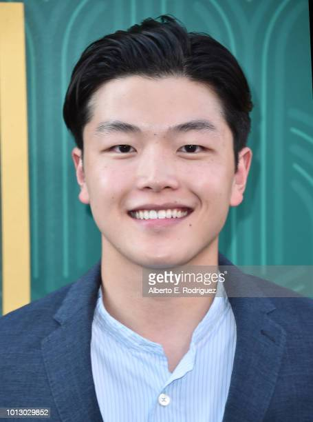 Alex Shibutani attends the premiere of Warner Bros Pictures' Crazy Rich Asiaans at TCL Chinese Theatre IMAX on August 7 2018 in Hollywood California