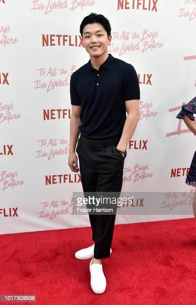 Alex Shibutani attends the Screening Of Netflix's 'To All The Boys I've Loved Before' Arrivals at Arclight Cinemas Culver City on August 16 2018 in...
