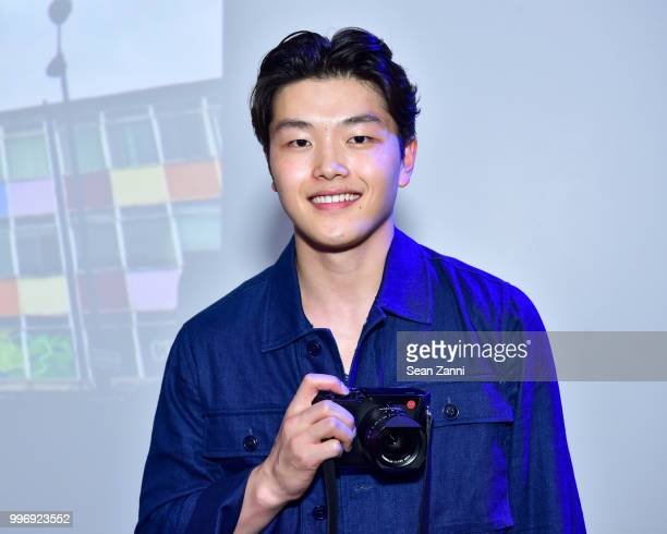 Alex Shibutani attends the Todd Snyder S/S 2019 Collection during NYFW Men's July 2018 at Industria Studios on July 11 2018 in New York City