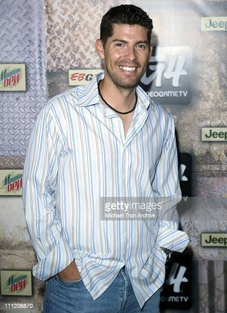 Alex Slattery during GPhoria 2005 The Mother of All Videogame Award Shows Arrivals at Los Angeles Center Studios in Los Angeles California United...