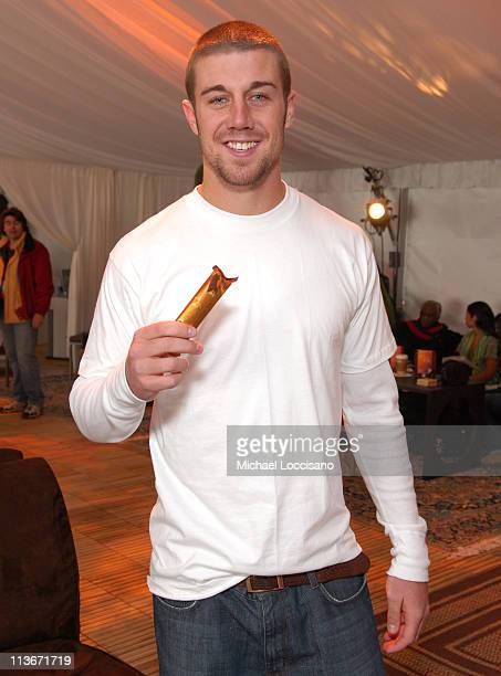 Alex Smith at Godiva at The Ice Lounge presented by The North Face Lexus and St Regis *Exclusive*
