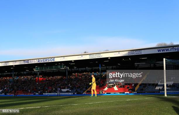 Alex Smithies Goalkeeper of Queens Park Rangers looks on during the Sky Bet Championship match between Blackburn Rovers and Queens Park Rangers at...